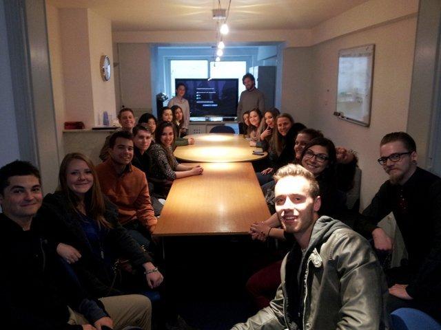 USAC Torino students visit EU Headquarters in Brussels