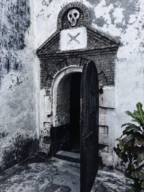 Elmina slave castle in Cape Coast