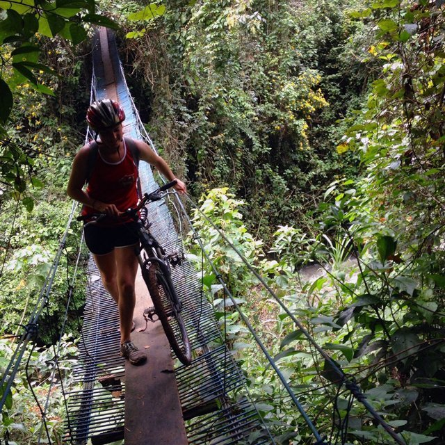 Mountain biking in Costa Rica