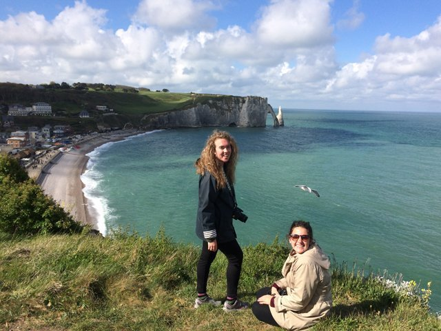 Visiting Etretat in Normandy