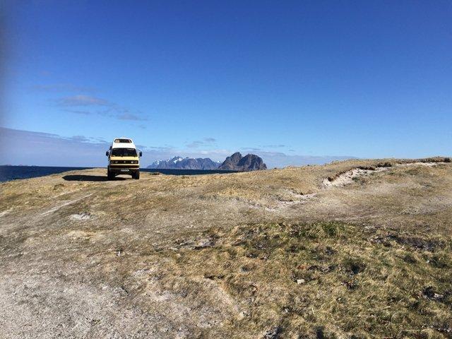 Driving through Norway