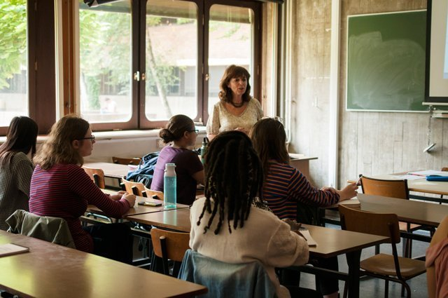 Pau classroom