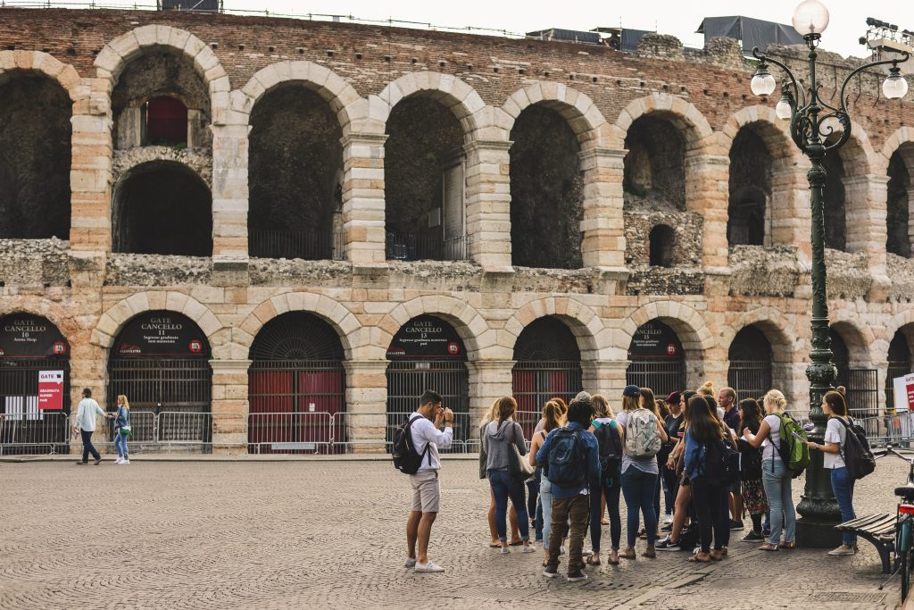 USAC Verona students visit the Arena