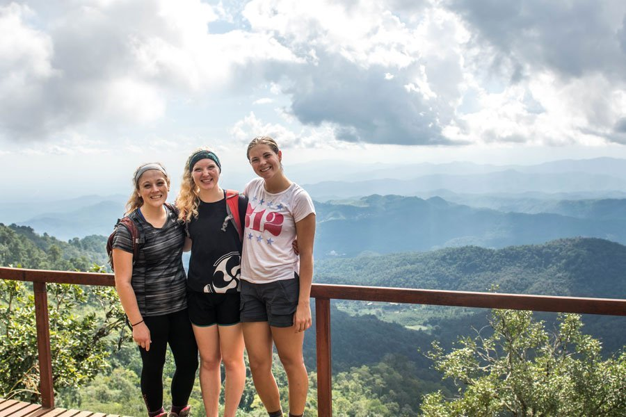 Yearlong study abroad in Chiang Mai Haley Westmoreland