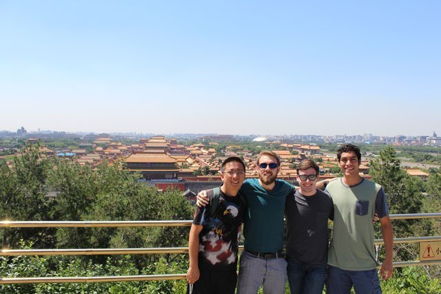 Students on the Beijing Tour