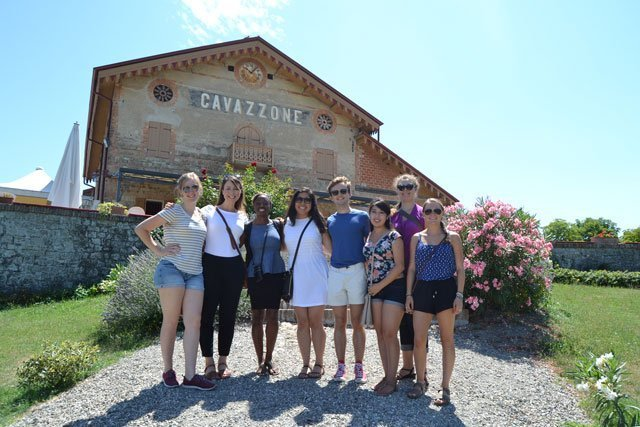 Students enjoy a field trip to Cavazzone