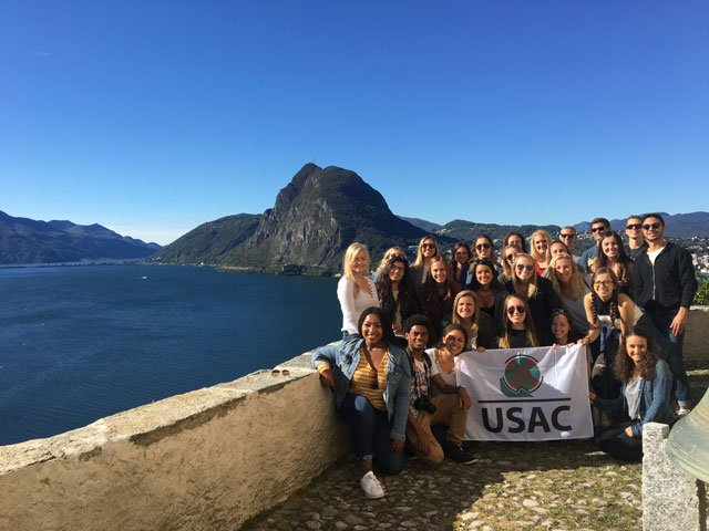 Verona students on a field trip to Lake Como, Bergamo, and Lugano