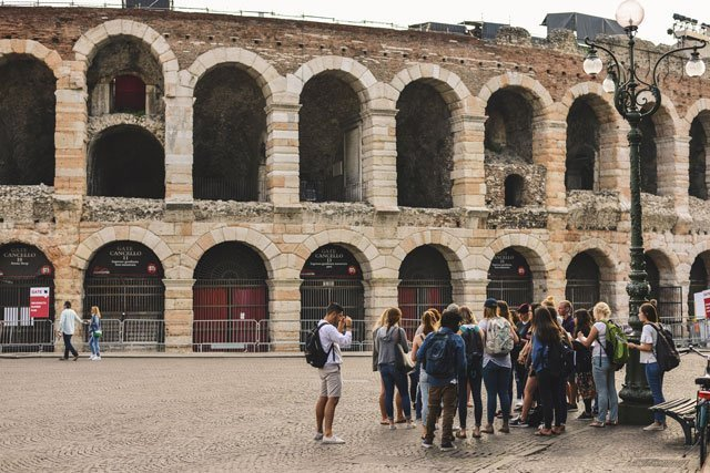 You'll feel like you're in Rome when you visit the Verona Arena