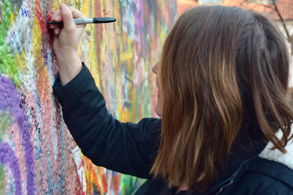Write on the John Lennon wall