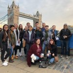 It's common for students to take individual and field trips to London