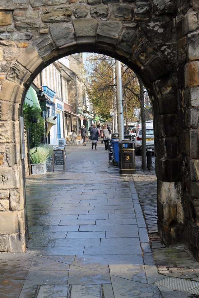 West Port is one of the last standing ports of entry through the medieval town walls, and is one of the best examples of medieval gates in the UK