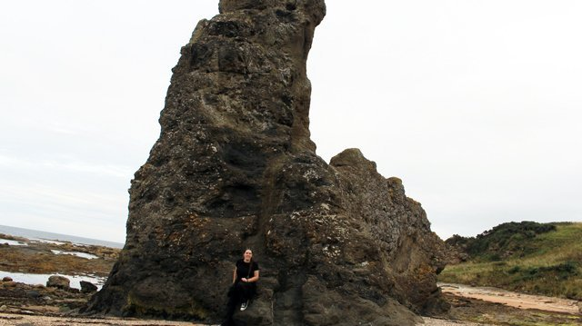 A few miles from East Sands is Rock and Spindle, a volcanic rock formation that can be easily visited in an afternoon.