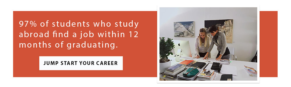 Take your education abroad and have a better chance of landing a career after college