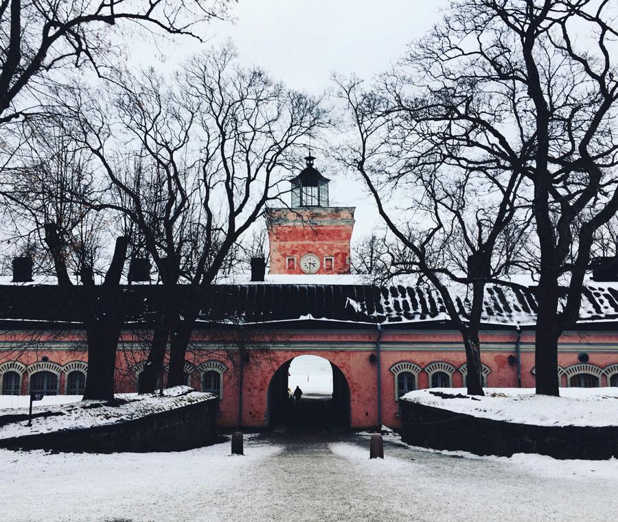 Fortress at Helsinki