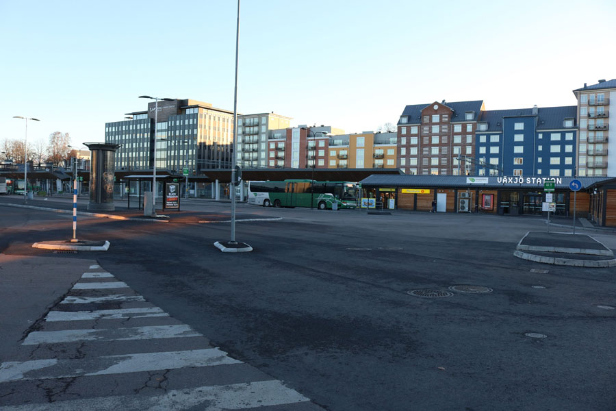 Växjö bus station