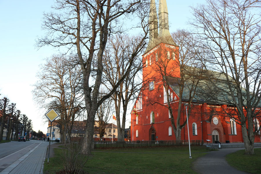The Växjö Cathedral