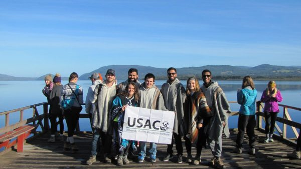 USAC students on the field study to Southern Chile