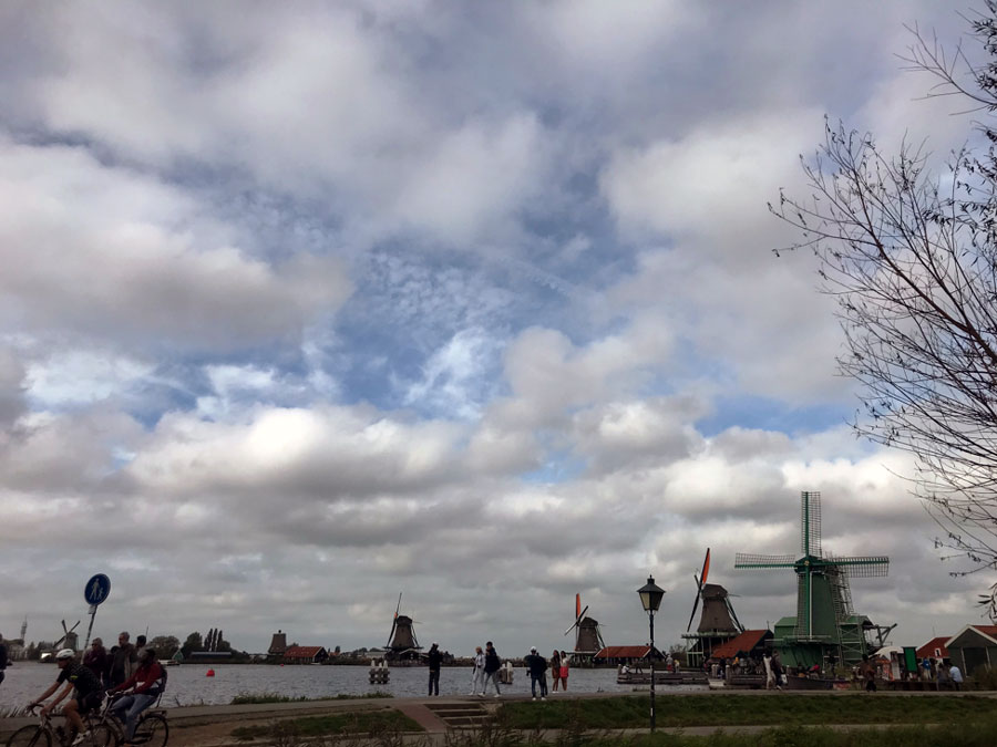 The Windmills of Zaanse Schans, taken during a study abraod in Maastricht, The Netherlands