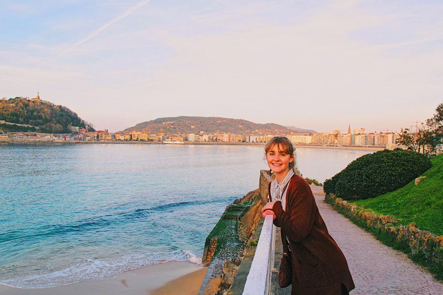 A student reflects on her time in San Sebastian, Spain studying abroad where she gained skills necessary to pursue a career in the National Security Agency