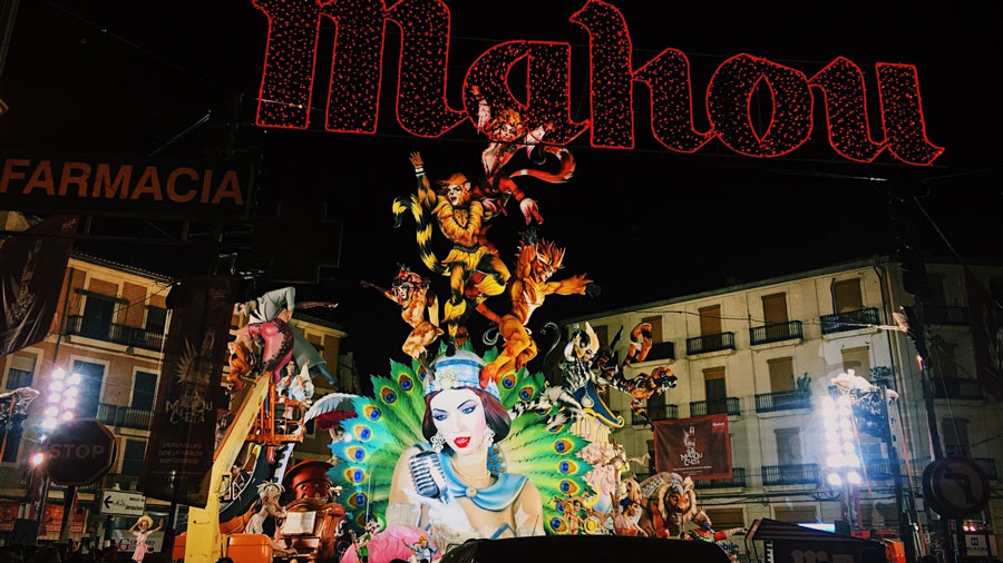 Las Fallas is a popular festival that students can experience during a semester studying abroad in Spain