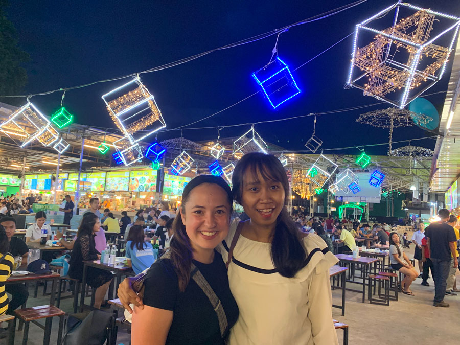 Exploring night markets in Thailand during study abroad with USAC