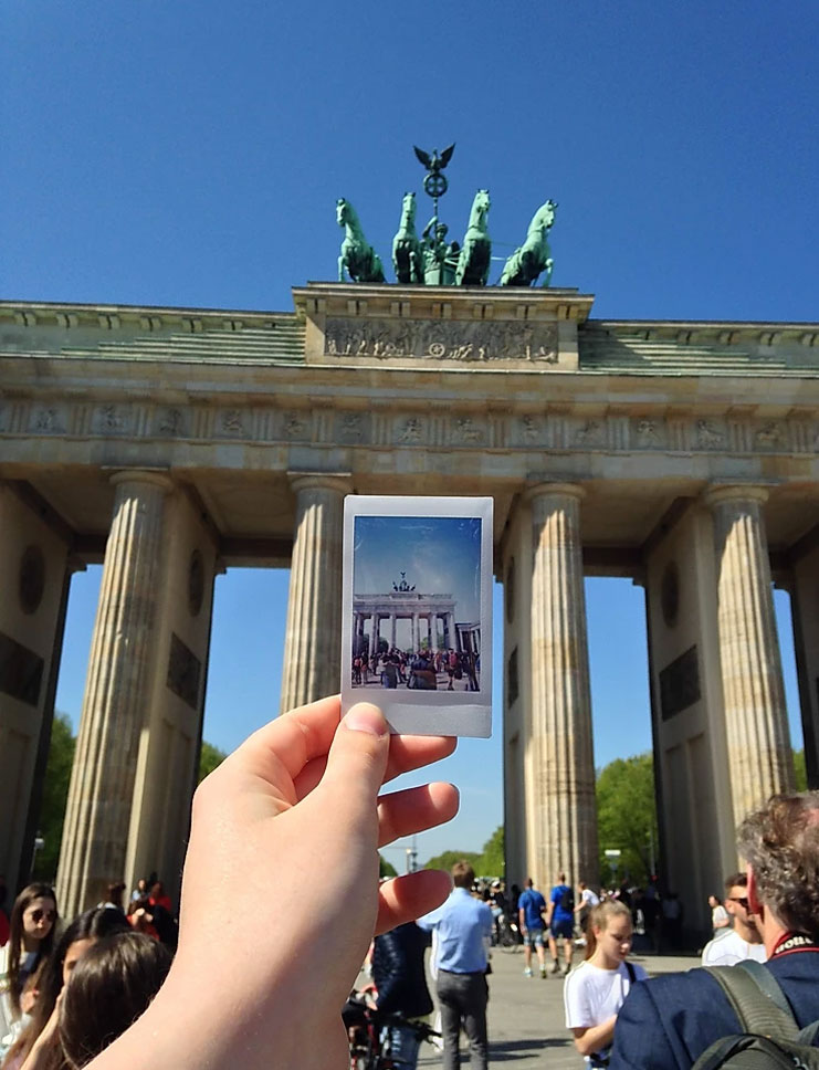 A picture of Brandenburg Gate in Berlin from a student during a field trip to Berlin during study abroad in Luneburg, Germany