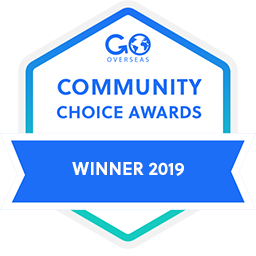 USAC top study abroad organization by GoOverseas community choice awards