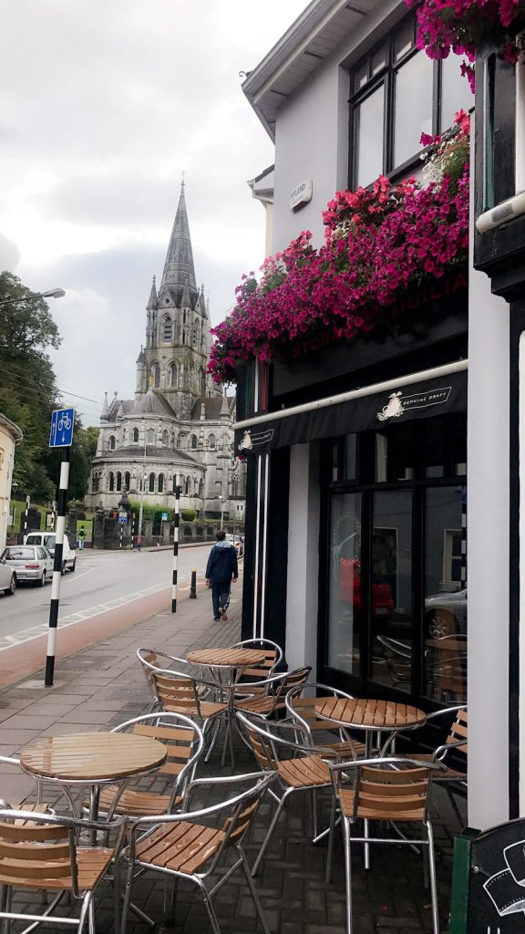 A view of St. Finn Barre's Cathedral in Cork, Ireland during a study abroad program