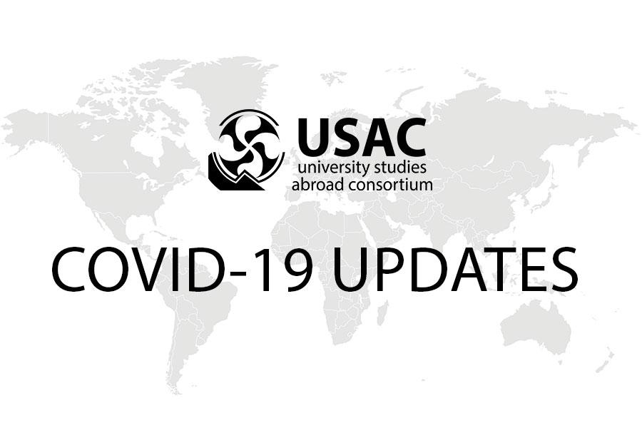 USAC Study abroad coronavirus and covid-19 updates