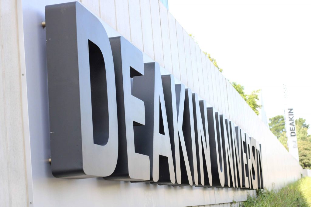 Front of Campus at Deakin University