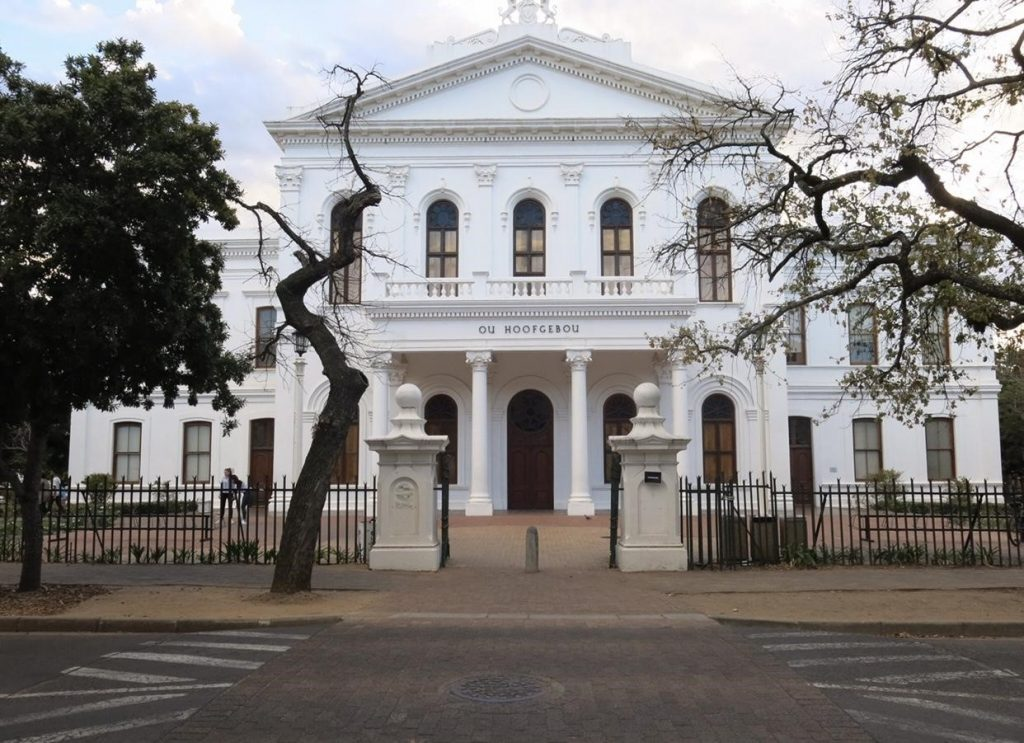 Stellenbosch University where USAC students take classes when they study abroad