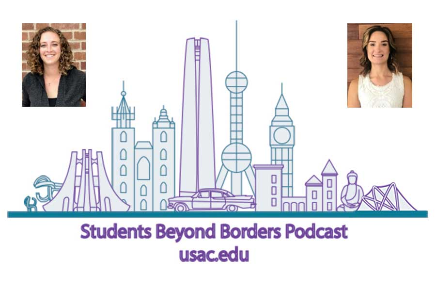 Students Beyond Borders is a study abroad podcast that talks about international education