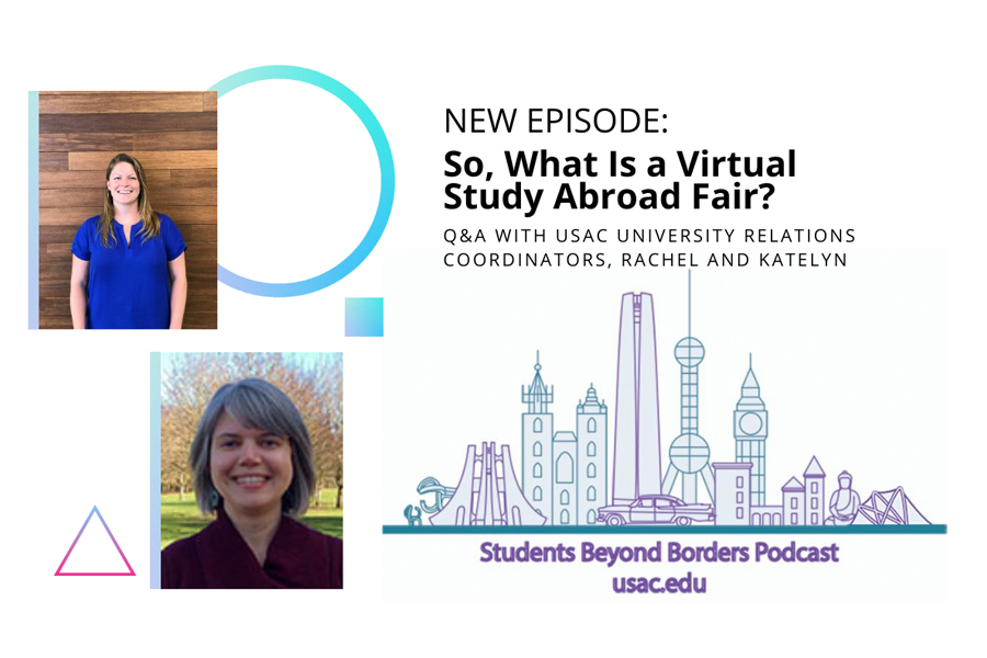 Students Beyond Borders study abroad podcast tips for attending a virtual study abroad fair